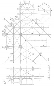 Plan de l'église Saint Yved Braisne