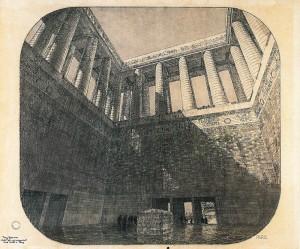 Tony Garnier - Projet pour un monument aux morts sur la colline de Chaillot - Non réalisé